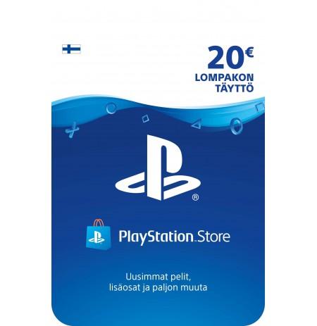 Playstation Network Card 20 EUR (Soome)