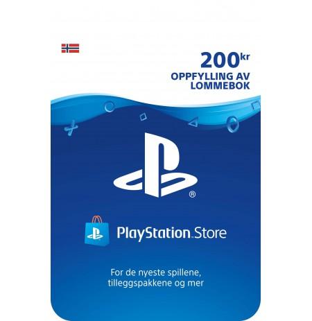 Playstation Network Card 200 NOK (Norra)