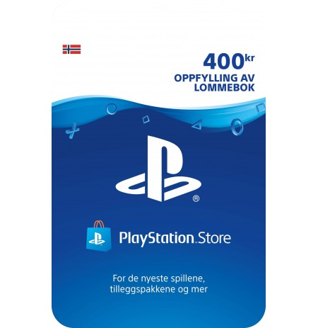 Playstation Network Card 400 NOK (Norway)