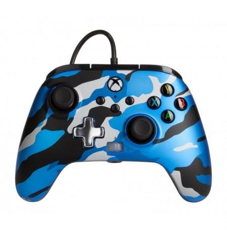 PowerA Enhanced juhtmega kontroller Xbox Series X|S - Blue Camo