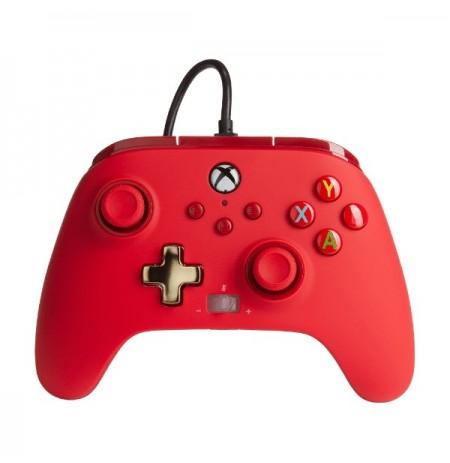 PowerA Enhanced juhtmega XBOX kontroller  X|S - Red