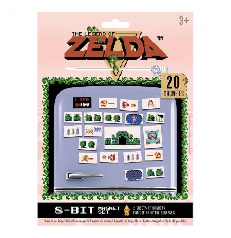 The Legend of Zelda (RETRO) Magnet Set 20pcs