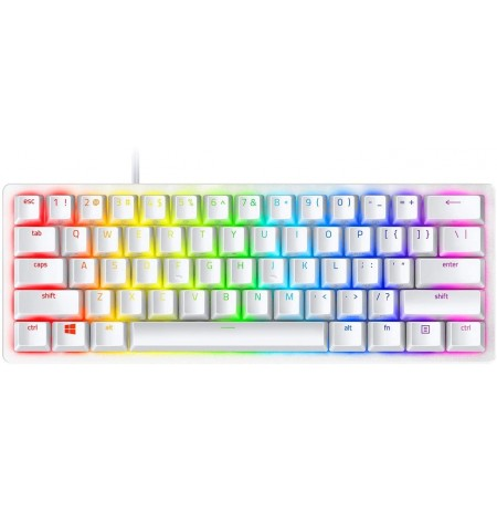 RAZER Huntsman Mini Mercury mehaaniline optiline klaviatuur   US, Purple switch