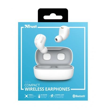 TRUST Nika white juhtmevabad kõrvaklapid (Bluetooth)