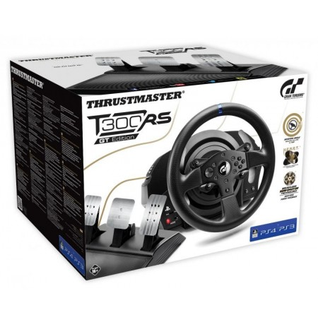 Thrustmaster T300 RS rool + T3PA pedaalid GT Edition   PS3, PS4,  PS5, PC
