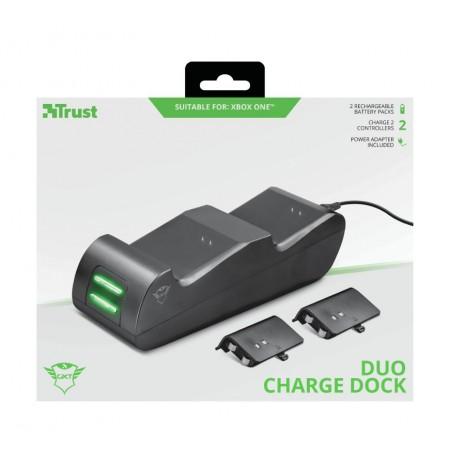 TRUST GXT 247 Duo Charging Dock komplekt  Xbox Series X jaoks S, Xbox One