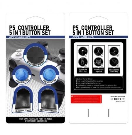 PlayStation 5 kontrolleri nupu komplekt (Sinine)