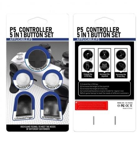 PlayStation 5 kontrolleri nupu komplekt (белый)