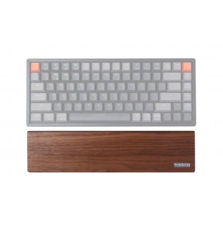 Keychron klaviatuuri randmetugi K2/K6 - pähkelpruun | 317 x 80 x 15 mm