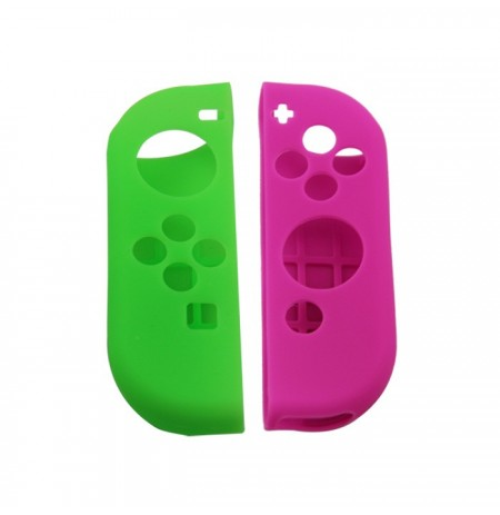 Nintendo Switch Joy-Con silikoonkaitse (roheline+lilla)