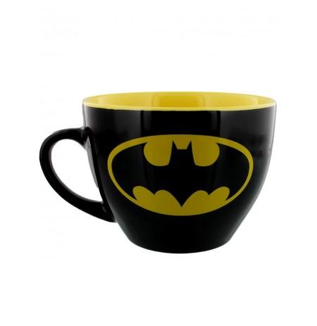 Batman (Symbol) Cappuccino Mug and Stencil (630ml)