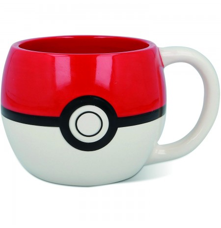 Pokemon Pokeball 3D Mug (320ml)