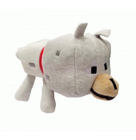 Plüüsist mänguasi Minecraft Wolf | 12-17cm