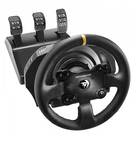 Thrustmaster TX Leather Edition Rool + pedaalid Xbox One, Xbox Series X/S ja PC