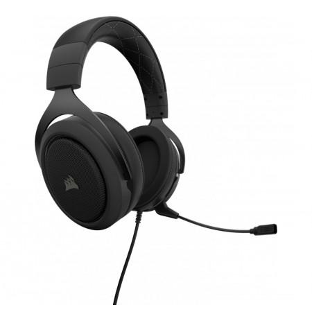Corsair HS60 PRO Surround Juhtmega mikrofoniga kõrvaklapid (must)