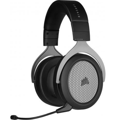Corsair HS75 XB Juhtmevabad mikrofoniga kõrvaklapid (Must)
