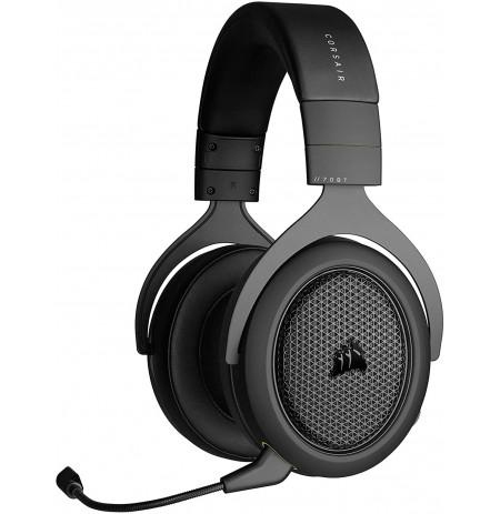 Corsair HS70 Bluetooth Juhtmevabad mikrofoniga kõrvaklapid (Must/hall)