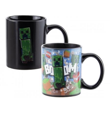 Minecraft: Creeper Heat Change Mug