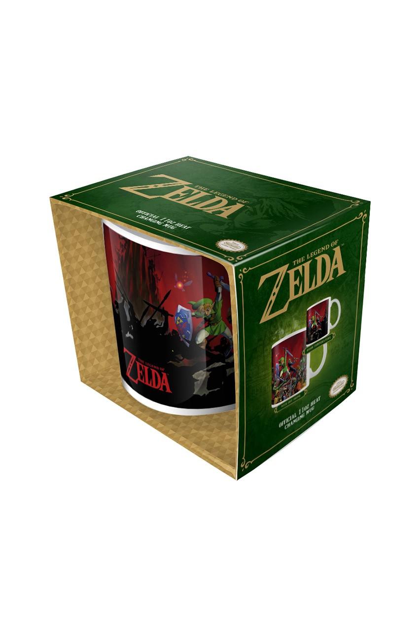 The Legend of Zelda kuumusele reageeriv tass