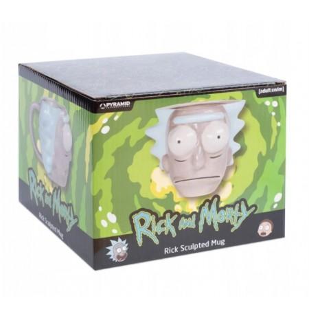 Rick and Morty (Rick Head) 3D Mug (700ml)