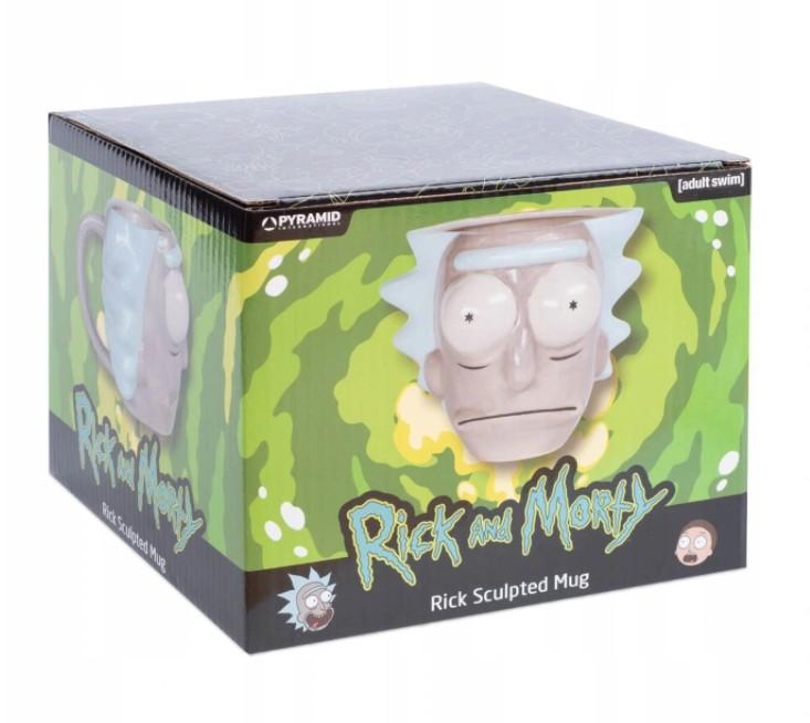 Rick and Morty (Rick Head) 3D Kruus (700ml)