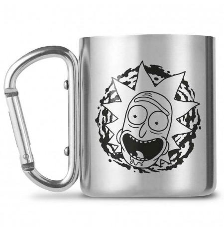 Rick and Morty - Rick Face Carabiner Mug