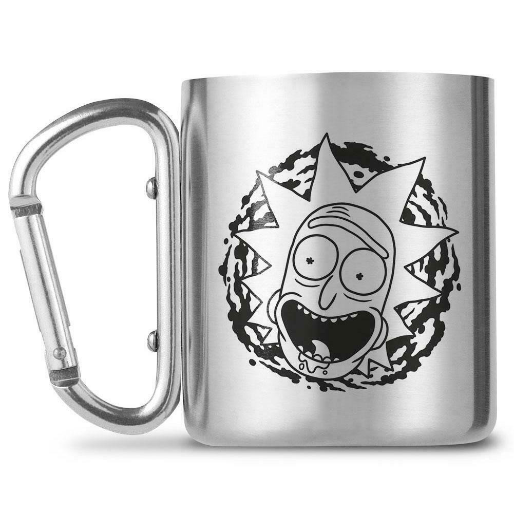 Rick and Morty - Rick Näokarabiini kruus