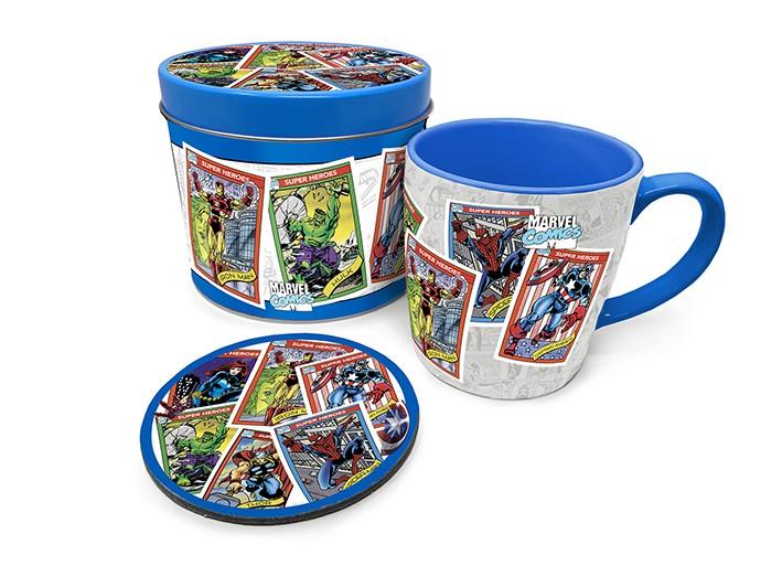 Marvel - Kollektsionäärikaardid, tassist kruus ja alused
