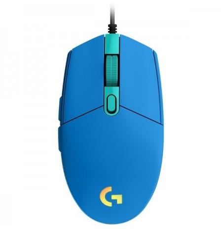 LOGITECH G203 Lightsync sinine juhtmega hiir