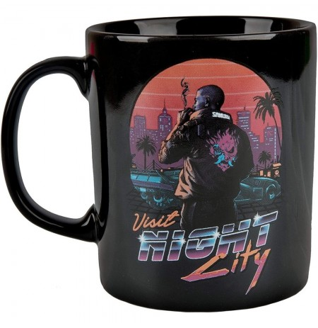 Cyberpunk 2077 Night City Sunset Mug