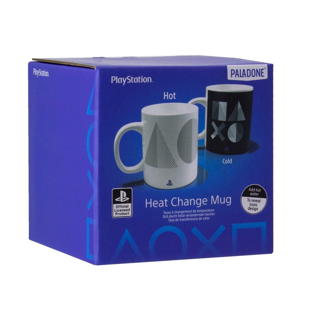 Playstation 5 kuumusele reageeriv tass