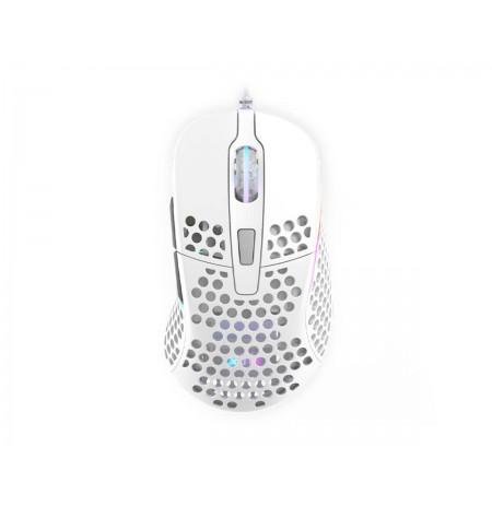 Xtrfy M4 Valge optiline juhtmega hiir | 16000 CPI