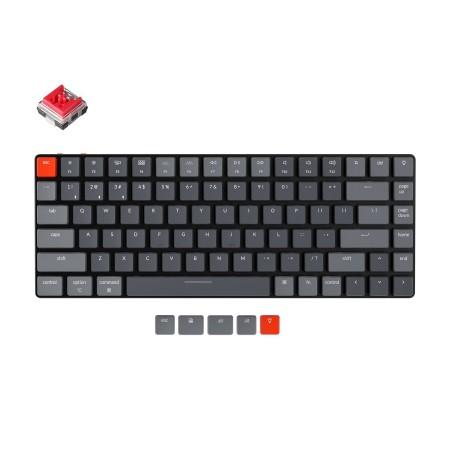 Keychron K3 mehaaniline 75% klaviatuur  (Traadita, RGB, Hot-swap, US, Keychron Optical Redh)