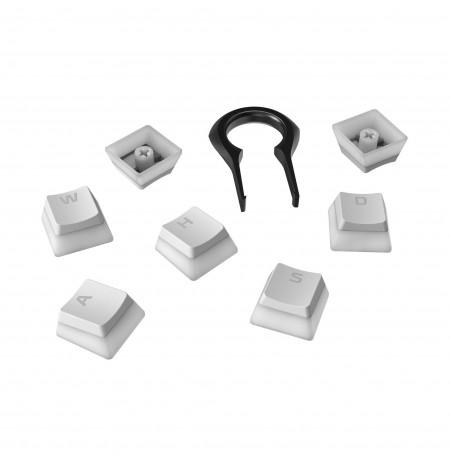 HyperX Pudding Keycaps   US, Valge
