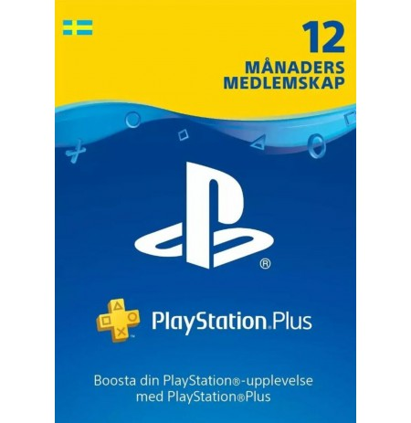 Playstation PLUS Card 365D (Rootsi)