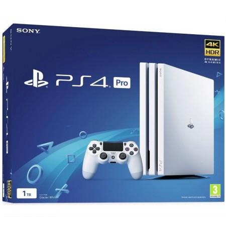 Mängukonsool SONY PlayStation 4 (PS4) Pro 1TB (valge)