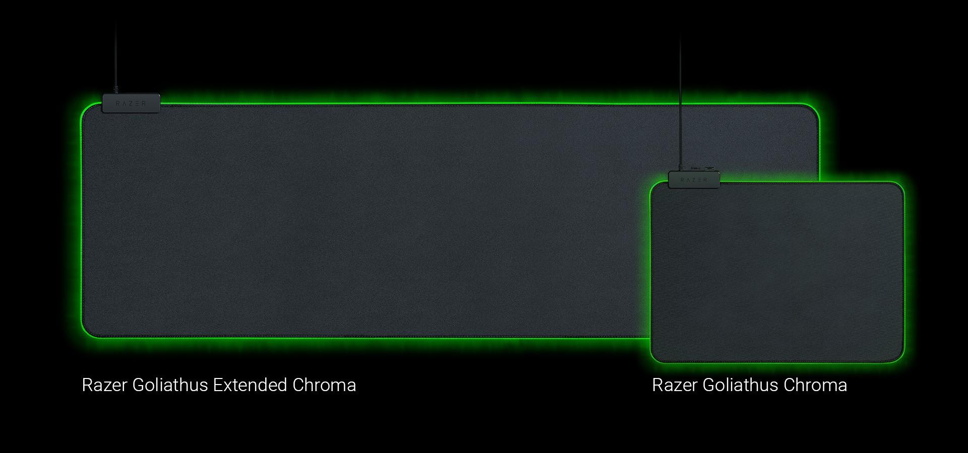 RAZER Goliathus Chroma Extended 920x294x3mm pehme helendav hiirematt