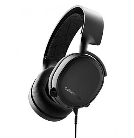 Steelseries Arctis 3 Black (2019 Edition) mänguri kõrvaklapid | 3,5 mm