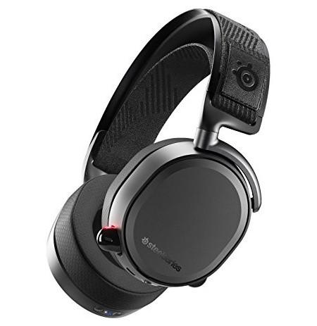 Steelseries Arctis Pro Wireless Mustad juhtmeta mänguri kõrvaklapid