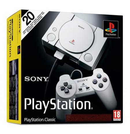 SONY Playstation Classic konsool 20 mänguga l HDMI