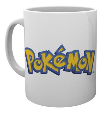 POKEMON Logo Ja Pikachu tass